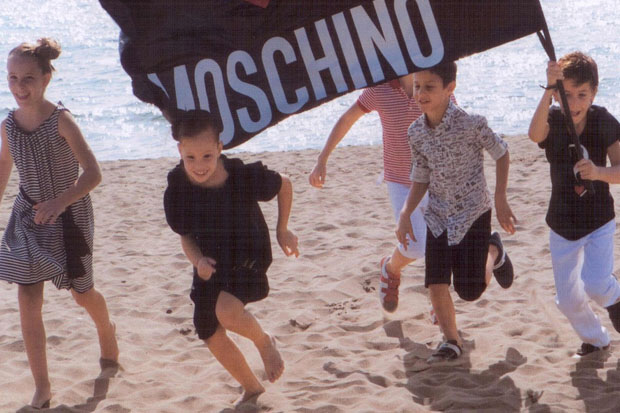 moschino kids shoes